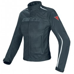 Chaqueta Dainese Hydra Flux D-dry Mujer Negro-Blanco