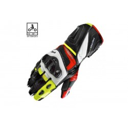 Guante Racing On Board PRX-1 negro/rojo/fluor