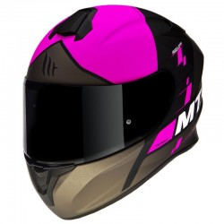 Casco MT Targo Rigel A5 rojo