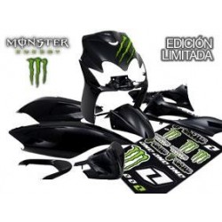 Kit Carenados Monster Jog RR negro